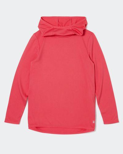 Long-Sleeved Hooded Top