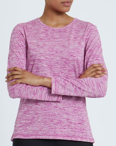 Long-Sleeved Texture Top