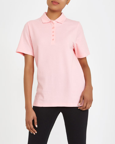 light-pink Classic Pique Polo Shirt