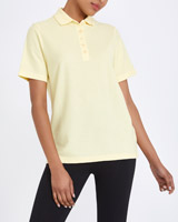 lemon Classic Pique Polo Shirt