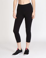 black Capri Leggings
