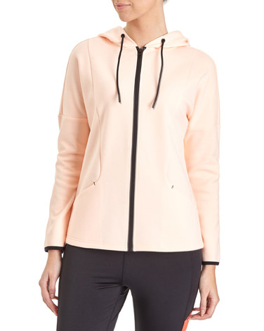 peach Clean Seam Jacket
