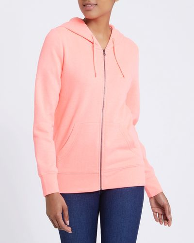 Marl Zip-Through