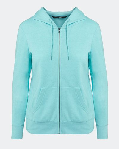 Marl Zip Through Hoodie thumbnail