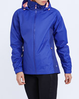 blue Print Waterproof Jacket