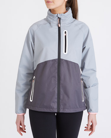 grey Waterproof Jacket