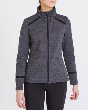 greyBrushed Jacket
