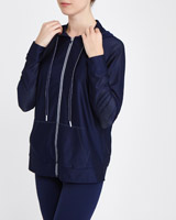 navy Lightweight Mesh Jacket