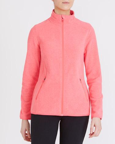 bright-coralZip Through Fleece