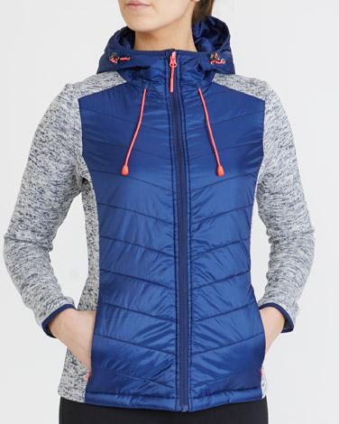 navyPadded Jacket