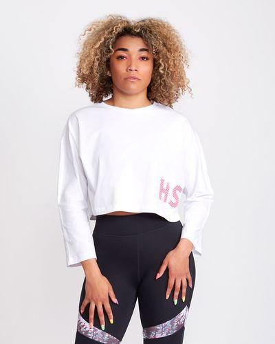 Helen Steele Long-Sleeved Crop T-Shirt
