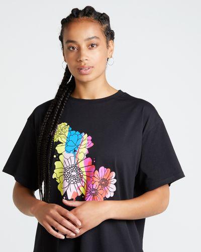 Helen Steele Floral Placement Print T-Shirt