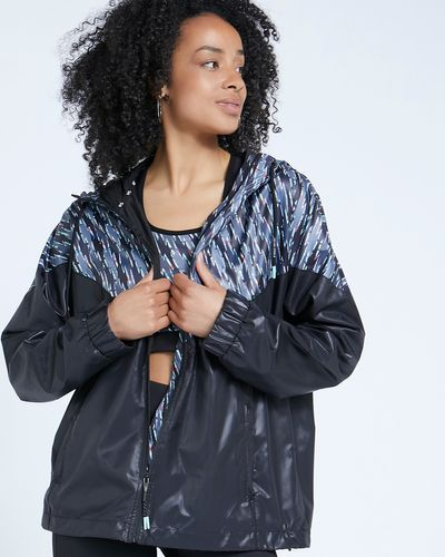 Helen Steele Printed Lightweight Zip Through Jacket