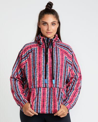 Helen Steele Stripe Half Zip Jacket