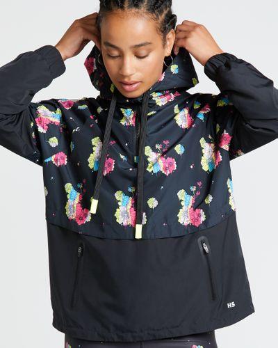 Helen Steele Floral Half Zip Jacket