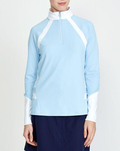 Pádraig Harrington Long Sleeve Half-Zip Top (UPF 50)