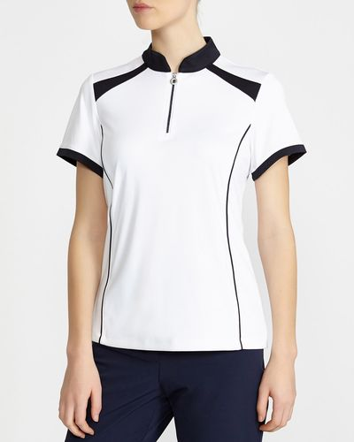 Pádraig Harrington Colourblock Polo (UPF 50)