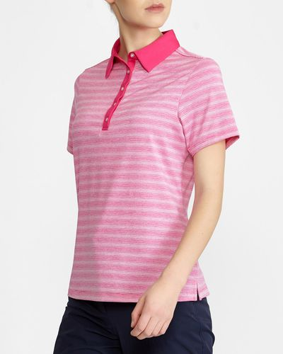 Pádraig Harrington Stripe Polo (UPF 50)