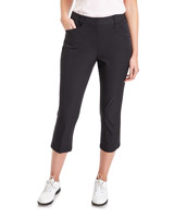 black Pádraig Harrington Golf Crop Trousers