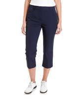 navy Pádraig Harrington Golf Crop Trousers