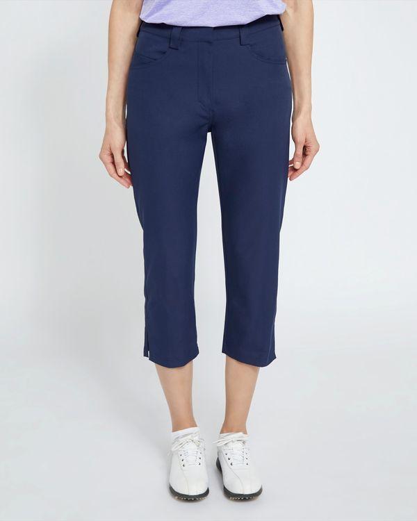 Pádraig Harrington Navy Golf Crop Trousers