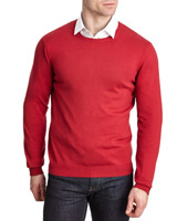 red Paul Costelloe Living Silk-Cashmere Blend Jumper