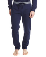 navy Paul Costelloe Living Stripe Waistband Loungepants