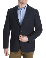 navy Paul Costelloe Living Textured Navy Blazer