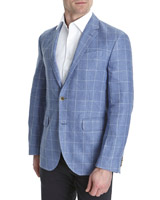 blue-check Paul Costelloe Living Check Blazer (Limited Edition)