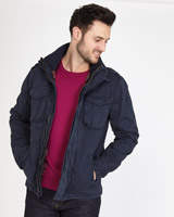 navy Paul Costelloe Living Field Jacket