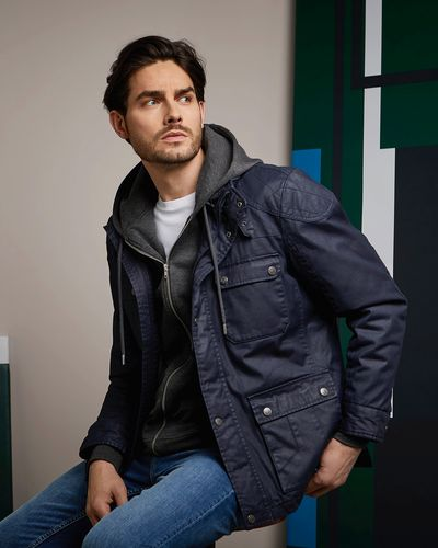 Paul Costelloe Living Waxed Cotton Jacket