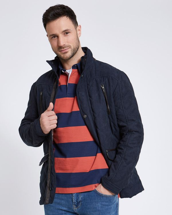 Paul Costelloe Living Peached Quilted Jacket