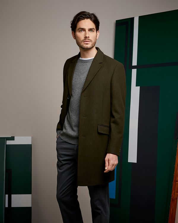Paul Costelloe Living Green Overcoat