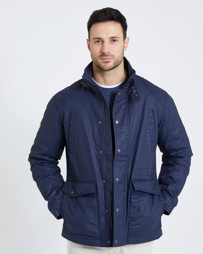 Paul Costelloe Living Carbon Waxed Jacket