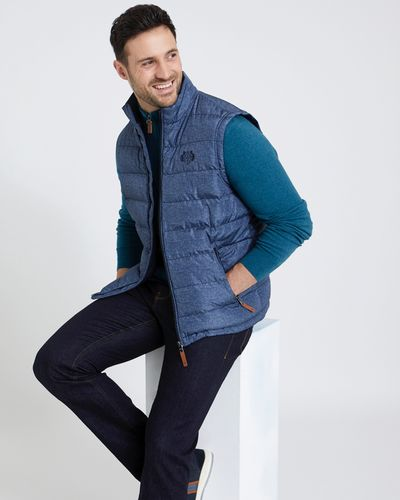 Paul Costelloe Living Padded Gilet