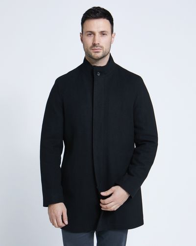 Paul Costelloe Living Funnel Neck Coat thumbnail