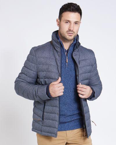 Paul Costelloe Living Textured Puffa Jacket