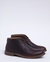 brown Paul Costelloe Living Leather Boots