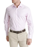 pink Paul Costelloe Living Boxed Sea Island Shirt
