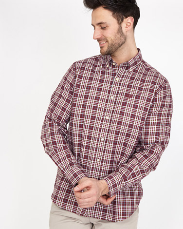 redPaul Costelloe Living Regular Fit Check Oxford Shirt