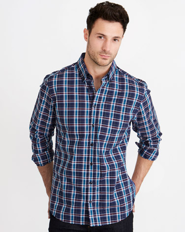 Paul Costelloe Living Regular Fit Check Shirt Shirt