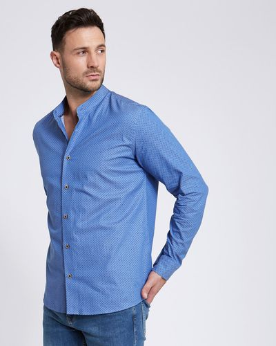 Paul Costelloe Living Printed Grandad Shirt thumbnail