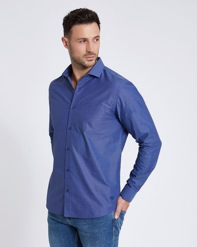 Paul Costelloe Living Dobby Design Shirt