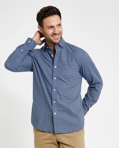 Paul Costelloe Living Regular Fit Tattersall Check Shirt