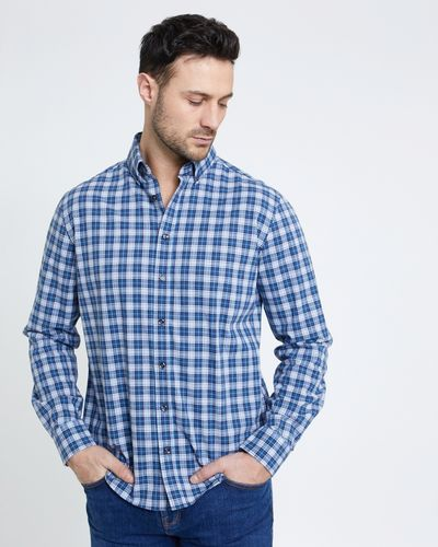 Paul Costelloe Living Navy Check Shirt