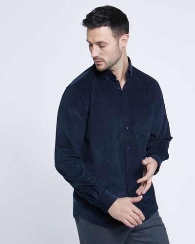 Paul Costelloe Living Regular Fit Soft Corduroy Shirt