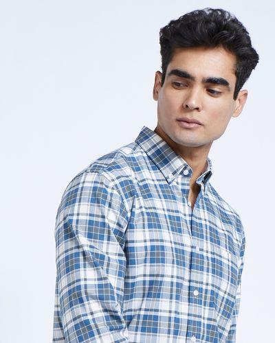 Paul Costelloe Living Khaki Check Shirt