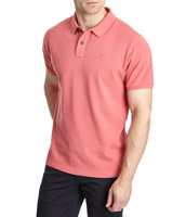 coral Paul Costelloe Living Egyptian Cotton Polo Shirt