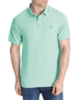 green Paul Costelloe Living Modal Blend Polo Shirt