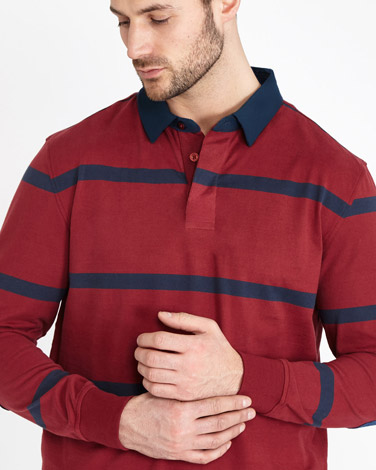 Paul Costelloe Living Stripe Rugby Shirt